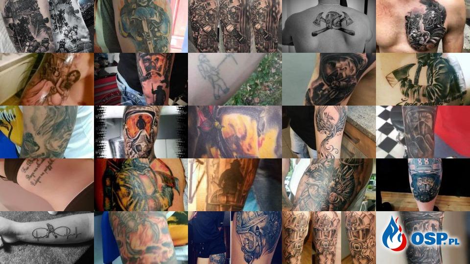 Strażackie Tatuaże Zobacz Inspiracje Na Dziarę Dla Strażaka